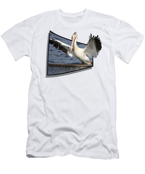Spread Your Wings Men's T-Shirt (Slim Fit) by Shane Bechler