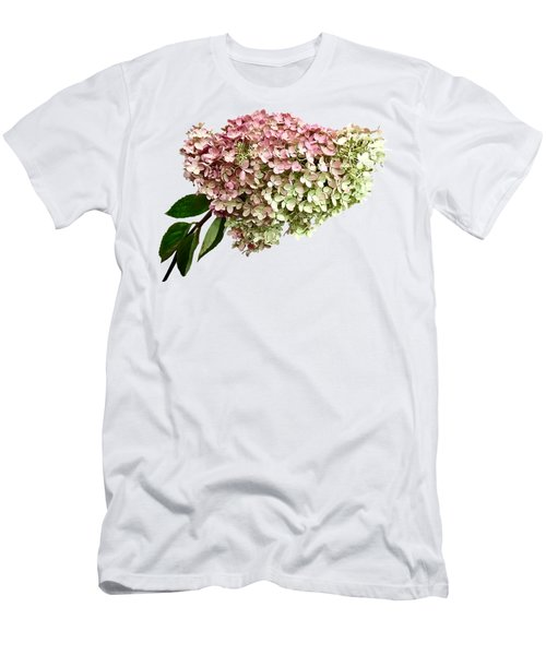 Sprig Of Hydrangea Men's T-Shirt (Athletic Fit)