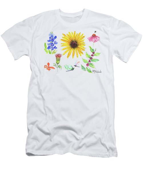 Spring 2017 Medley Watercolor Art By Kmcelwaine Men's T-Shirt (Athletic Fit)