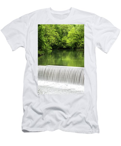 Men's T-Shirt (Slim Fit) featuring the photograph Spring At Buck Creek by Parker Cunningham
