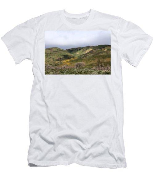 Men's T-Shirt (Slim Fit) featuring the photograph Spring At Door by Viktor Savchenko