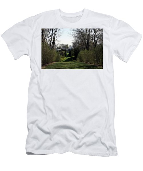 Spring At Ladew Topiary Gardens Men's T-Shirt (Athletic Fit)