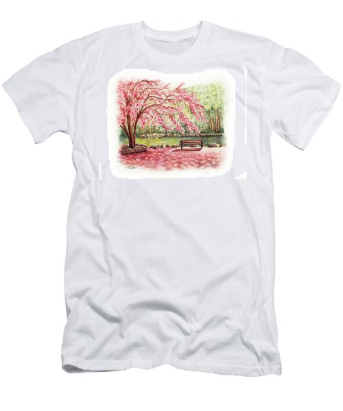 Spring At Lithia Park Men's T-Shirt (Athletic Fit)