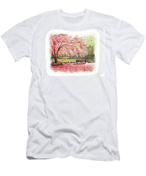 Spring At Lithia Park Men's T-Shirt (Athletic Fit)