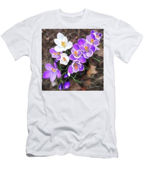 Spring Beauties Men's T-Shirt (Athletic Fit)