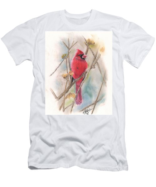 Spring Cardinal Men's T-Shirt (Athletic Fit)