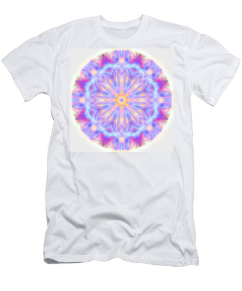 Spring Energy Mandala 3 Men's T-Shirt (Athletic Fit)