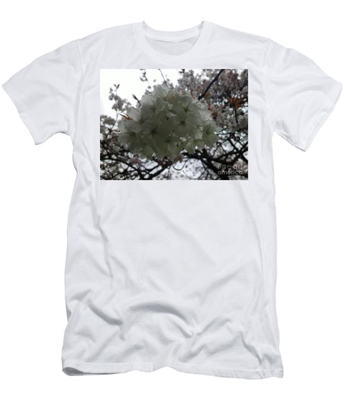 Men's T-Shirt (Slim Fit) featuring the photograph Spring by Hanza Turgul