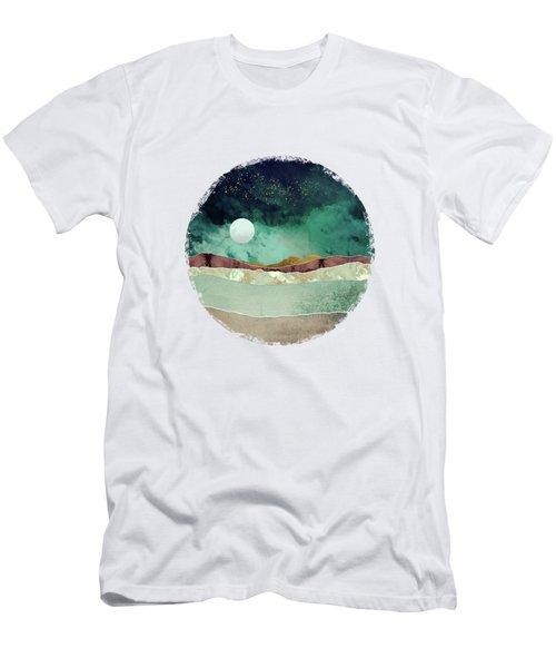 Spring Night Men's T-Shirt (Slim Fit) by Katherine Smit