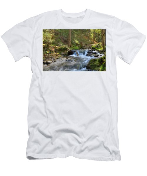 Spring Run Off Men's T-Shirt (Athletic Fit)