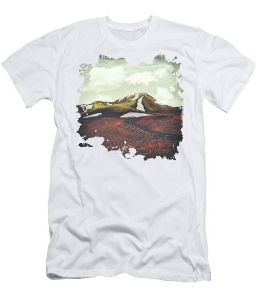 Spring Thaw Men's T-Shirt (Slim Fit) by Katherine Smit