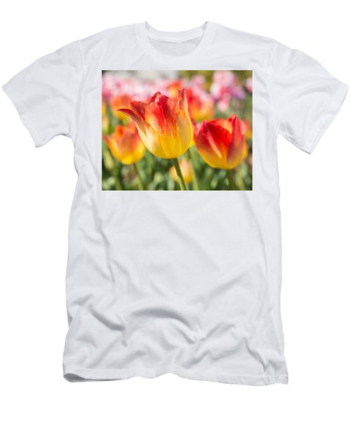 Spring Touches My Soul Men's T-Shirt (Athletic Fit)