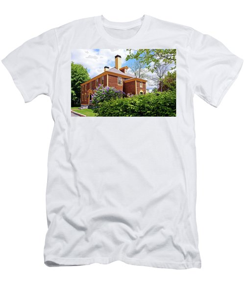 Springtime At Folsom Tavern Men's T-Shirt (Athletic Fit)