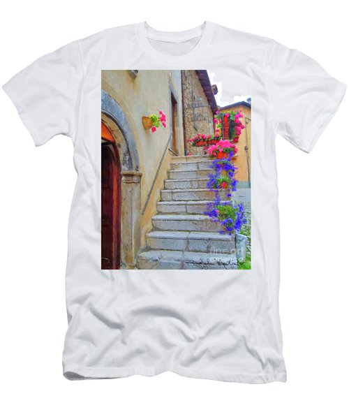 Springtime In Italy  Men's T-Shirt (Athletic Fit)