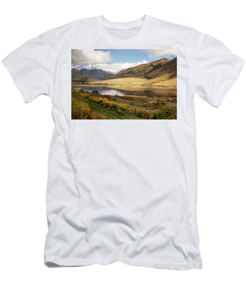 Springtime In New Zealand Men's T-Shirt (Athletic Fit)