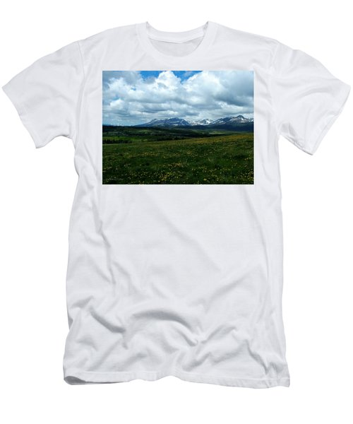 Springtime In The Rockies Men's T-Shirt (Athletic Fit)
