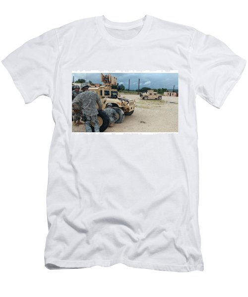 Ssg Carey's Famous Last Words: what Men's T-Shirt (Athletic Fit)