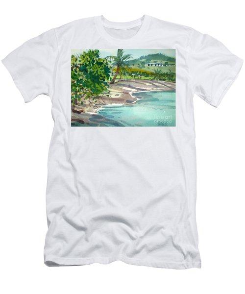 St. Croix Beach Men's T-Shirt (Athletic Fit)