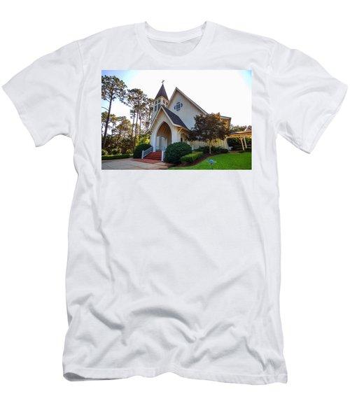 St. James V2 Fairhope Al Men's T-Shirt (Slim Fit) by Michael Thomas