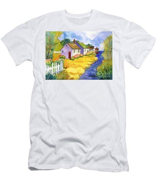 St Michael's Cottages Men's T-Shirt (Athletic Fit)