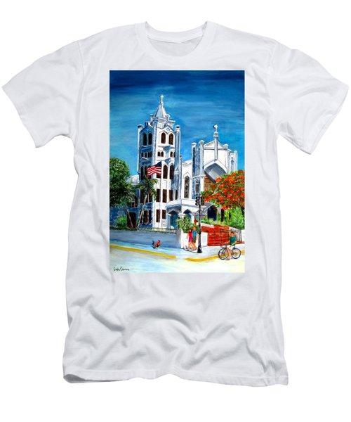 St. Paul's Church  Men's T-Shirt (Athletic Fit)