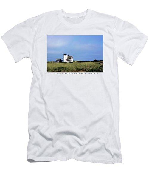 Stage Harbor Light Men's T-Shirt (Athletic Fit)