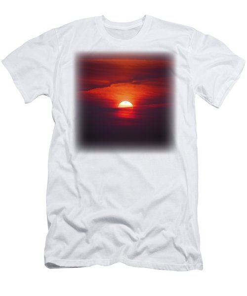 Stairway To Heaven On Transparent Background Men's T-Shirt (Slim Fit) by Terri Waters