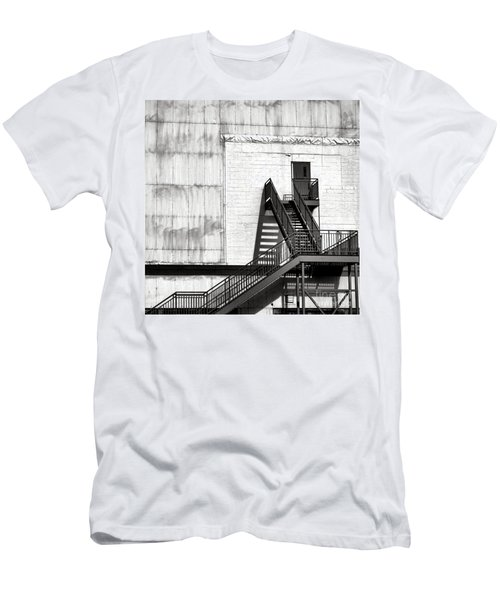 Stairway To Less Than Heaven  Men's T-Shirt (Athletic Fit)