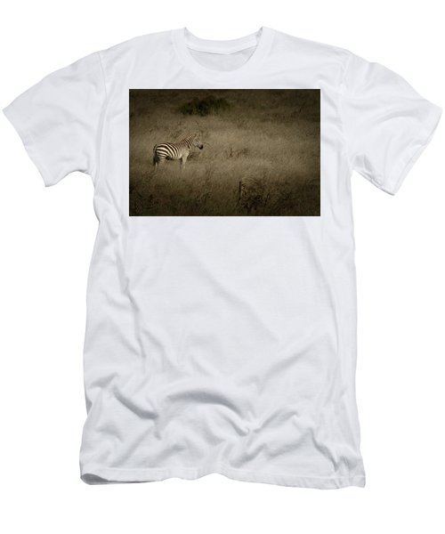 Men's T-Shirt (Slim Fit) featuring the photograph Standing In The Light by Roger Mullenhour