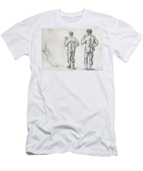 Standing Male Bather  Men's T-Shirt (Athletic Fit)