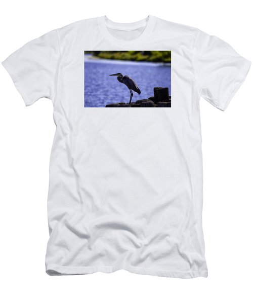 Standing On The Dock Of The Bay Men's T-Shirt (Athletic Fit)