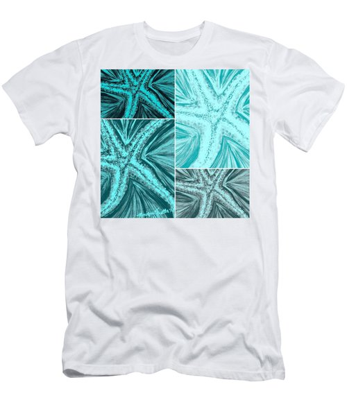Starfish Pop Art Men's T-Shirt (Athletic Fit)
