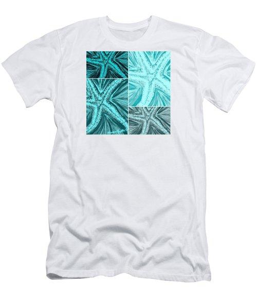 Starfish Pop Art Men's T-Shirt (Athletic Fit)