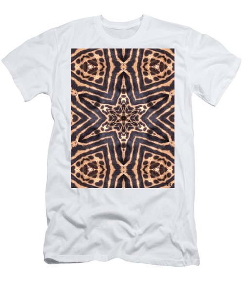 Star Of Cheetah Men's T-Shirt (Slim Fit) by Maria Watt