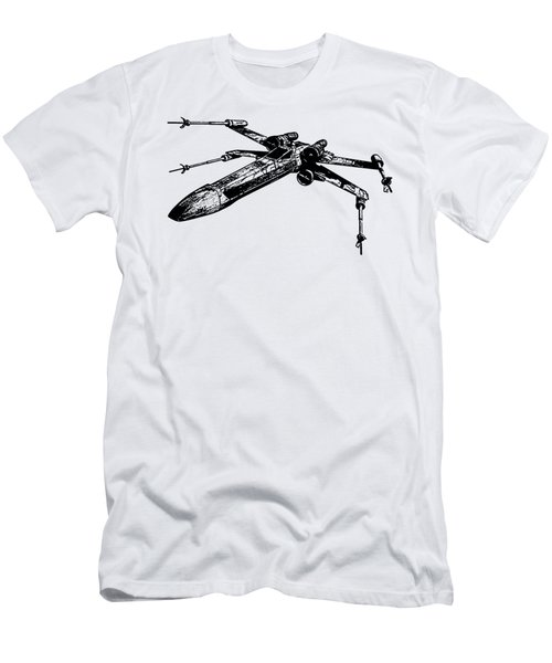 Star Wars T-65 X-wing Starfighter Tee Men's T-Shirt (Slim Fit) by Emf
