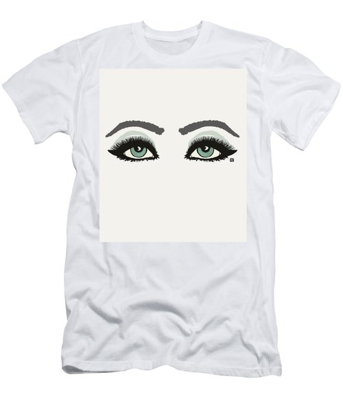 Men's T-Shirt (Slim Fit) featuring the painting Starry Eyed by Lisa Weedn