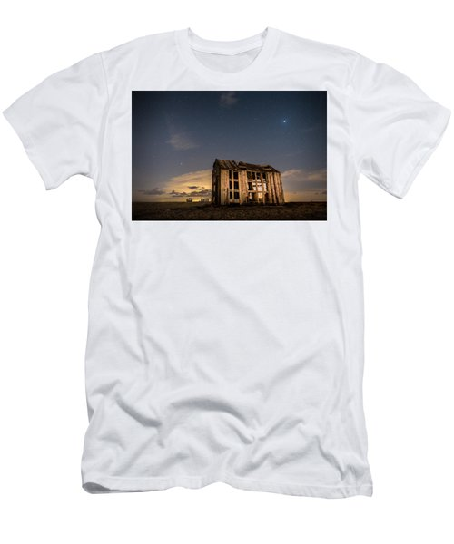 Starry Night At Dungeness Men's T-Shirt (Athletic Fit)
