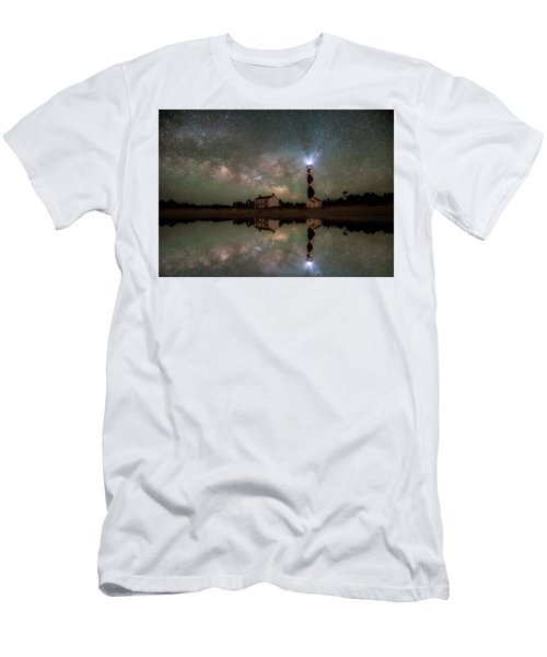 Starry Reflections Men's T-Shirt (Athletic Fit)