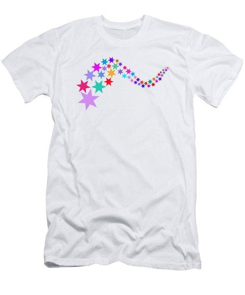 Stars 05 Men's T-Shirt (Athletic Fit)