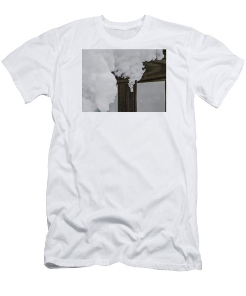 Men's T-Shirt (Slim Fit) featuring the photograph Start Of The Avalanche by Deborah Smolinske