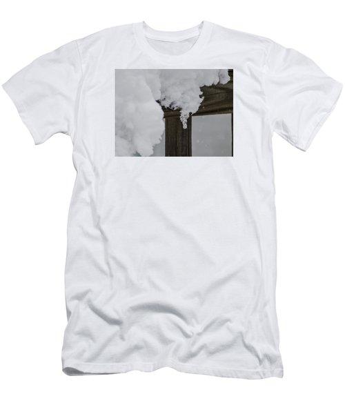 Start Of The Avalanche Men's T-Shirt (Slim Fit) by Deborah Smolinske