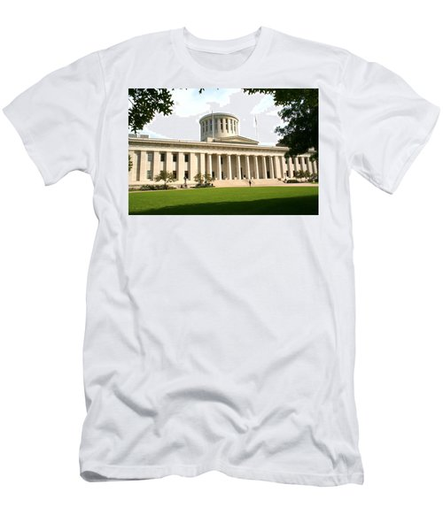 State Capitol Of Ohio Men's T-Shirt (Athletic Fit)