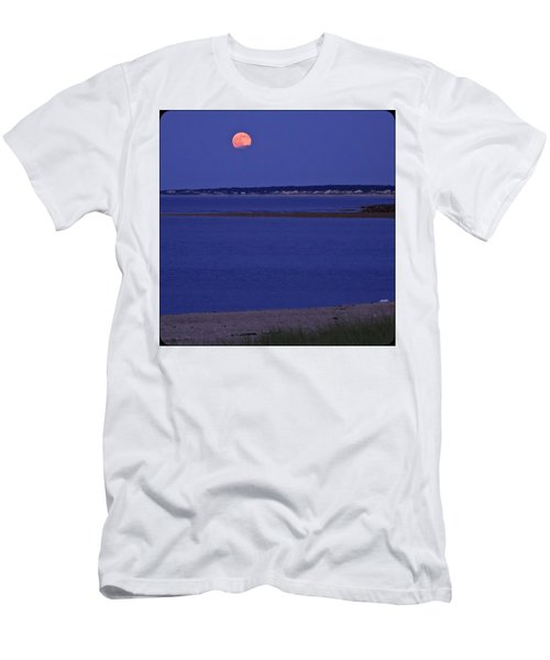 Stawberry Moon Men's T-Shirt (Athletic Fit)