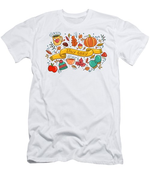 Stay Cozy Men's T-Shirt (Athletic Fit)