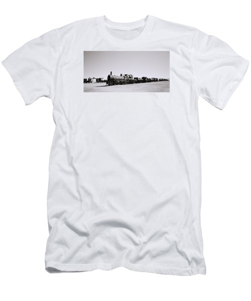 Steam Trains Men's T-Shirt (Slim Fit) by Shaun Higson