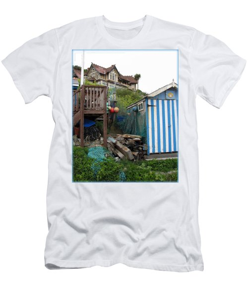Steephill Cove Men's T-Shirt (Slim Fit) by Carla Parris