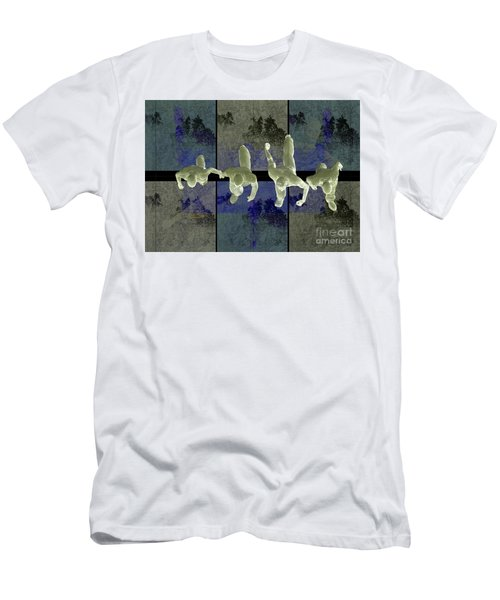 Step Into The Vortex Men's T-Shirt (Athletic Fit)