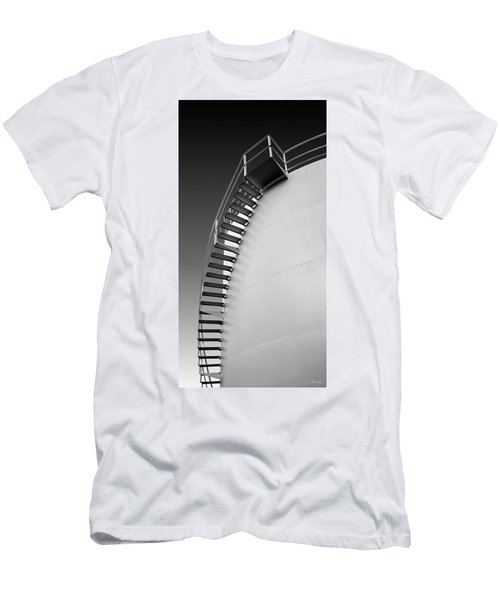Men's T-Shirt (Slim Fit) featuring the photograph Stepping Up by Joe Bonita
