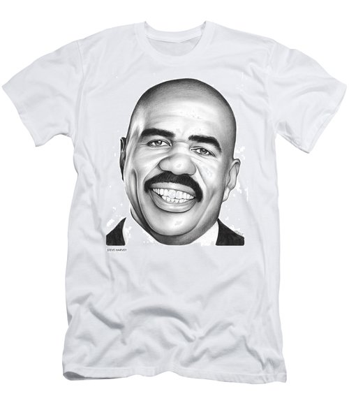 Steve Harvey Men's T-Shirt (Slim Fit) by Greg Joens