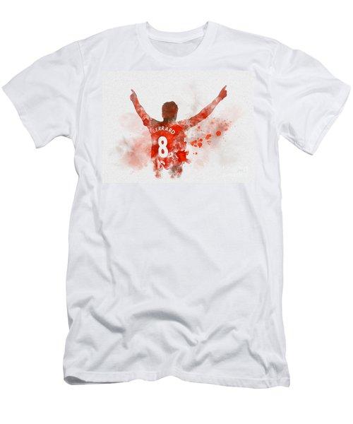 Steven Gerrard Men's T-Shirt (Athletic Fit)